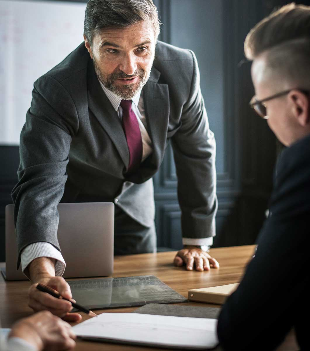 Attorney Consulting With Client - idaho falls attorney