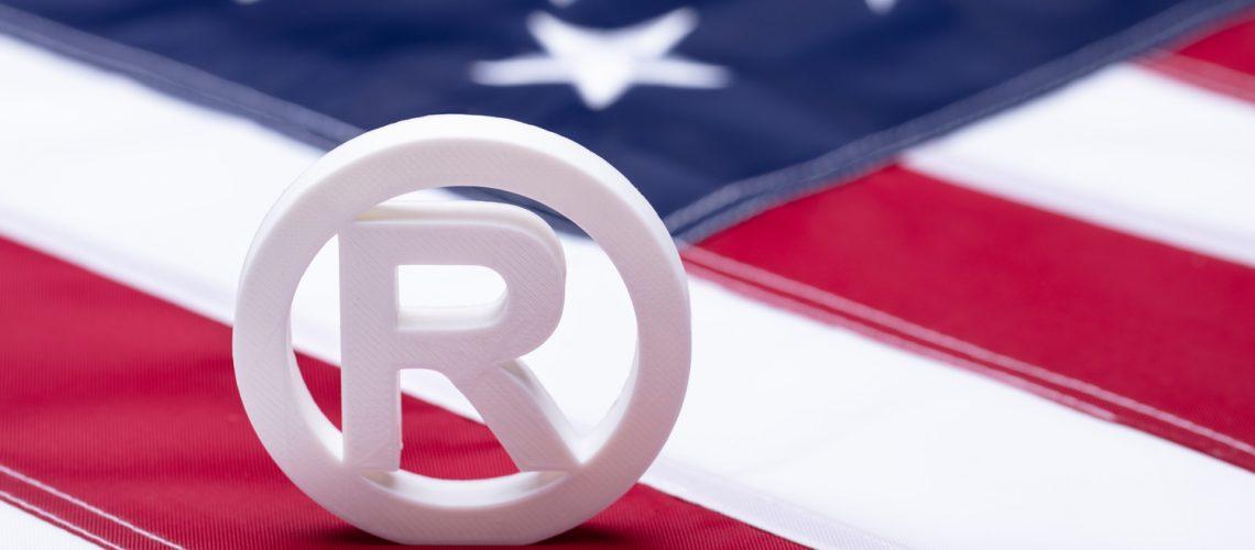 American Flag With Copyright Symbol - idaho falls attorney